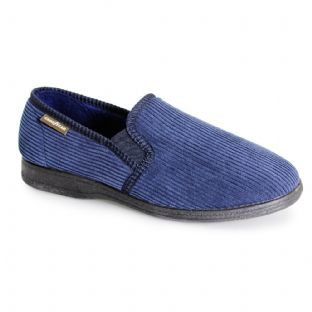 Goodyear Mens Humber Navy Blue Slippers